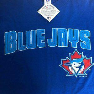 Vintage Blue Jays Baseball MLB T Shirt Logo 7 1998